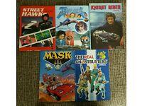 Kids classic 80s annuals