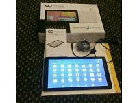 "10.1"" Go clever quantum 2 1010 lite android tablet , 5.1, 8GB, dual cam, hdmi bluetooth wifi kodi"