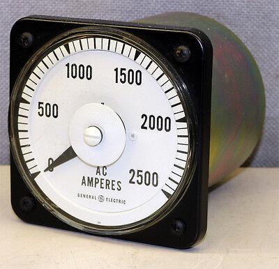 General Electric Yokogawa 103131lstv Analog Panel Meter Gauge