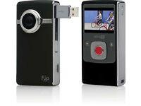 Flip UltraHD Video Camera - Black, 8 GB, 2 Hours (3rd Generation)