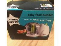 Baby food blender brand new condition