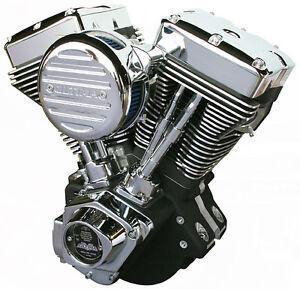 Jireh Cycles Fat Bastard Black 131c.i EVO Engine for Harley 84-99 and Customs