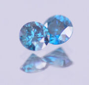 Natural Loose Blue Diamonds