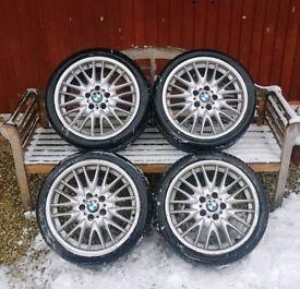 BMW M Sport MV1 Alloys Alloy Wheels 18 inch Staggered