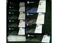 HP LaserJet ink toners