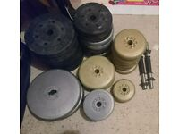 Barbell plus 100 weight