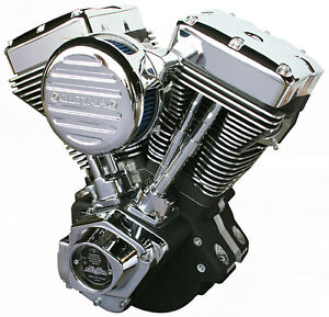 Ultima® Black 127 c.i. El Bruto® Motor for 1984-99 Harleys