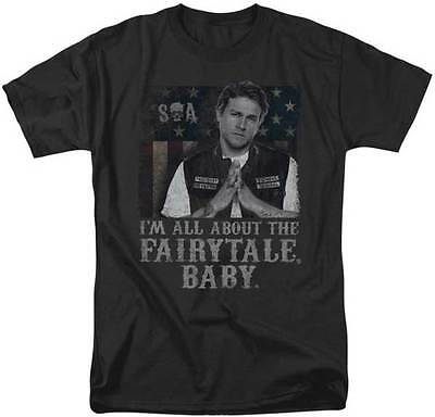 Sons Of Anarchy Soa Fairytale Baby Samcro Motorcycle Tv Show T Tee Shirt S 3Xl