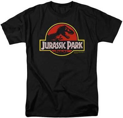Jurassic Park Filmklassiker Logo Dinosaurier Rawr Lizensiert Erwachsene T Hemd ()