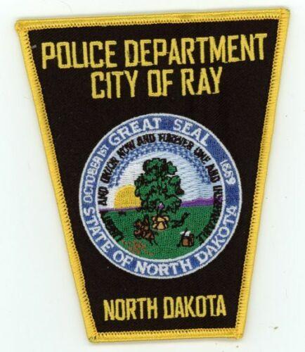 RAY POLICE NORTH DAKOTA NICE COLORFUL PATCH SHERIFF
