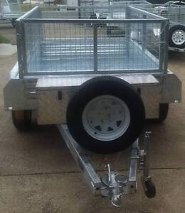 9 x 5 Galvanised Dual-Axle Trailer Acacia Ridge Brisbane South West Preview