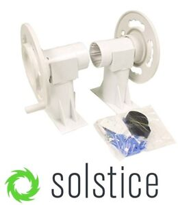 SOLSTICE POOL • SWIM SPA SOLAR BLANKET COVER ROLLER REEL SYSTEM