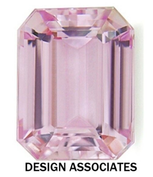 ROSE QUARTZ 16 x 12 MM EMERALD CUT ALL NATURAL