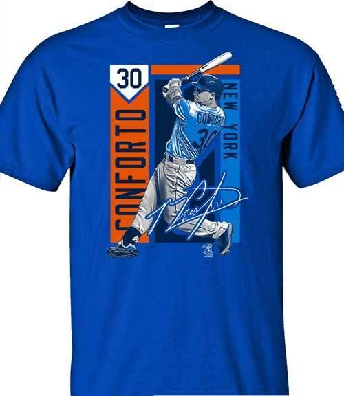 New York Mets MLBPA PETE ALONSO #20 BIG APPLE Youth Boys Tee Shirt Blue