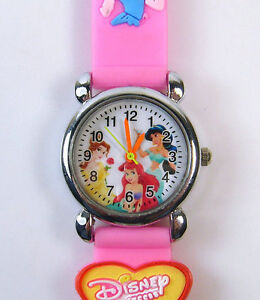 Disney-Princess-ARIEL-Child-Girls-Quartz-Wrist-Watch-Xmas-P2