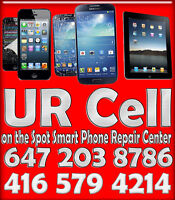 Samsung S 3 4 5,LG Nexus,HTC ★★★ Cell iPhone Repair Mississauga