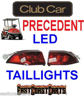 Club Car Precedent Golf Cart LED Tail Light Kit, (2) LED 3 WireTaillights - Golf Cart Light