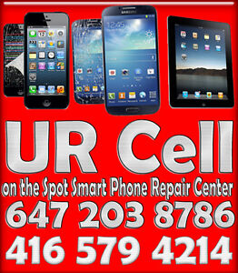 Samsung iPhone ,LG Nexus,HTC ★★★ Cell Phone Repair Mississauga