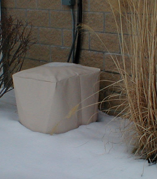 """OUTDOOR AIR CONDITIONER COVER - 24"""" X 24"""" SQUARE - FITS"""