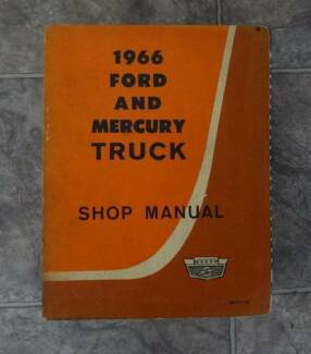 FORD TRUCK, CAR etc GENUINE SERVICE MANUALS. From: $20