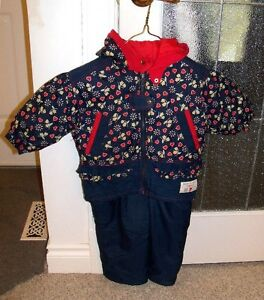 2T toddler Teddy's Choice winter jacket & snow pants size 2