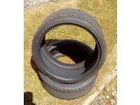 Sun-F Viper Quad Genuine front tyres, 185/30 x 14