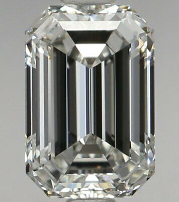 Loose D Color Flawless Diamond For Sale - 0.66 Carat Emerald Cut Loose Diamond