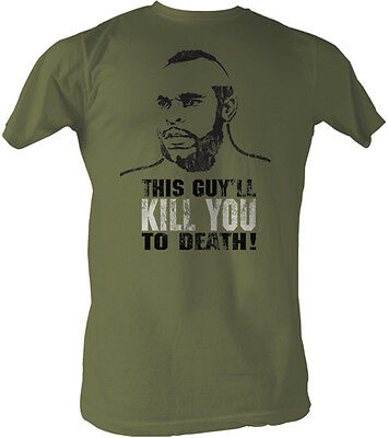 Rocky 3 Clubber Lang This Guy'll Kill You To Death Adult T Shirt Classic Movie ](Rocky 3 Clubber Lang)