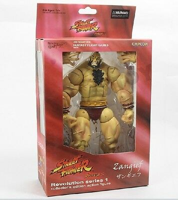 NEW Sota Street Fighter Revolution Series 1 S1 Zangief Action Figure on Rummage