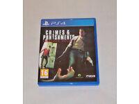 SONY PLAYSTATION PS4 GAME CRIMES & PUNISHMENTS SHERLOCK HOLMES PAL DEAR WATSON.*