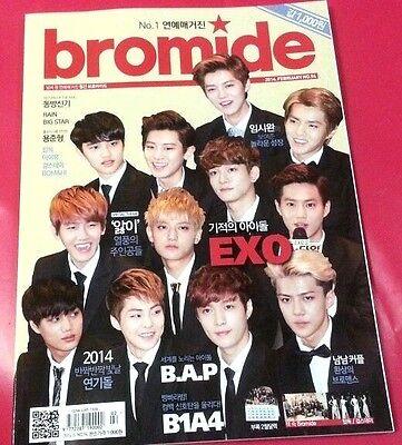 Bromide EXO BAP B1A4 TVXQ IU :Magazine+Poster:TOPPDOGG+Girl