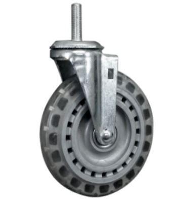 Shepherd 6 Vipor Wheel Threaded Swivel Stem Caster 350lb. Capacity