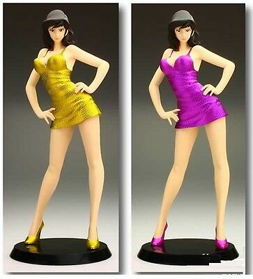 "Lupin the 3rd FUJIKO MINE Dress Up 8"" Figure (Gold Dress) Banpresto"