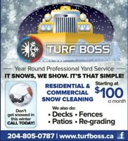 Commercial and Residential Snow Clearing