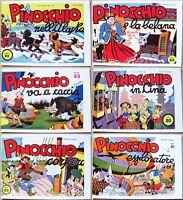Pinocchio Blocco 11 Ristampe Anastatiche Del 1975 Albi Nerbini Usciti Nel 1937 -  - ebay.it
