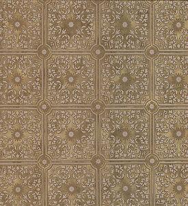 Wallpaper sample embossed tin style ceiling tile for Paintable wallpaper home hardware