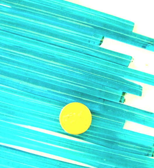 1lb Devardi Glass Rods Lampworking COE 104 Tr Ice Blue