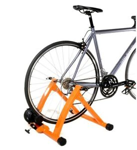 Conquer Indoor Bike, Cycling Trainer Exercise Stand (Orange)