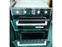 BUILT IN DOUBLE OVEN STAINLESS STEEL/BLACK NEW, Sizes. 89 HIGH . 59.5 WIDE