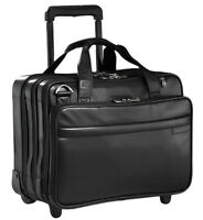 Briggs & Riley – Leather Rolling Business Briefcase – Model LR22
