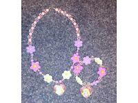 Disney Tangled jewellery set