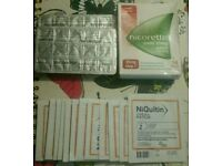 New nicotine Nicorette 14x25 patches & Niquitin 14x 14 patches £15 all in.