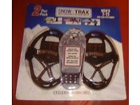 brand new 7-11 mens snow trax ice/snow grippers for sale in liverpool