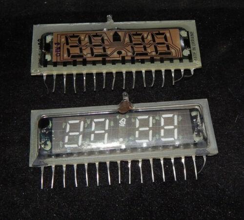 Lot 2 pcs ILC4-5/7L Large VFD Nixie Tubes for Clock NOS Tested