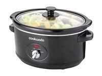 Cookworks 3.5L Slow Cooker ((£16.99 in argos)