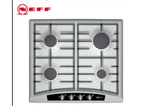Neff (German) Stainless Steel Gas Hob