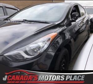 2012 Hyundai Elantra GL GL 5 SPD NO accidnets-MANUAL MINT LOW KM