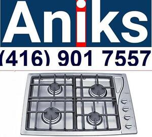 Scholtes TG304IXGHNA 30in Gas Cooktop with 4 Sealed Burners $899