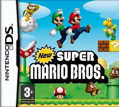 New Super Mario bros game Nintendo DS DSI DSL DSIXL 3DS XL Brand New Sealed UK