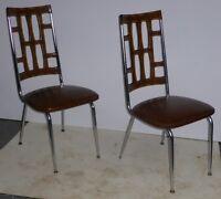 Chaises vintage antique anciennes retro art deco  chairs